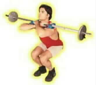 Sting Ray (front squat aid)