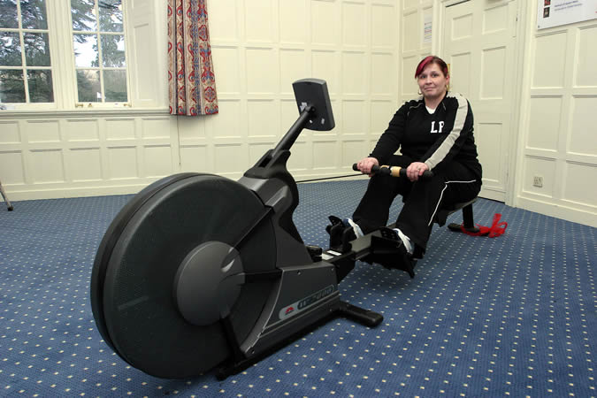 <strong>Johnson W7000 Air Rower as seen on Celebrity Fit Club</strong>