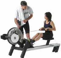 Cadence Coach Rower - Full commercial quality and build.