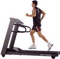 Jet 7000 Treadmill from Johnson Fitness